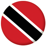 Trinidad & Tobago Country Flag 58mm Button Badge